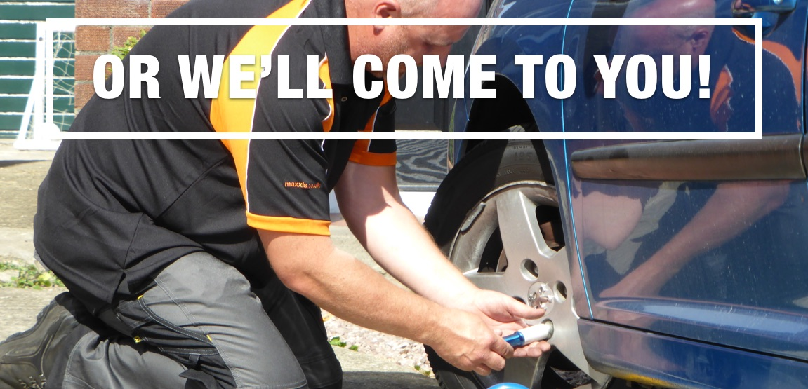 Or we'll come to you - Tyres Swindon Mobile Tyre-fitting Swindon/Wiltshire | Save-On-Tyres Swindon